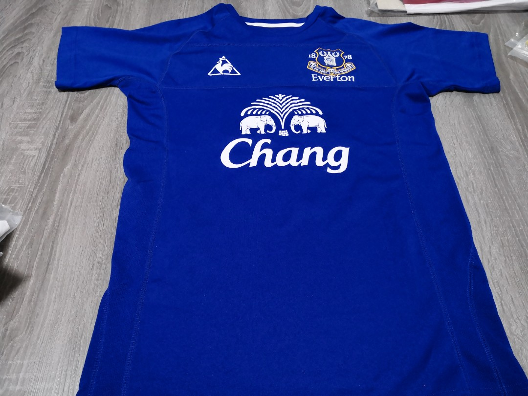 online retailer 52102 5fccb Everton Home Football Kit 2010-11 Season