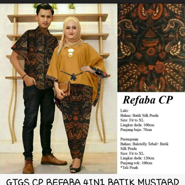 Gtgs Cp Refaba 4in1 Batik Maron 150 000 Bhn Ballotely Import Tebal Mix Batik Silk Prada 1pcs Kemeja 1set Atasan Batwing Dan Rok Songket Pinggang