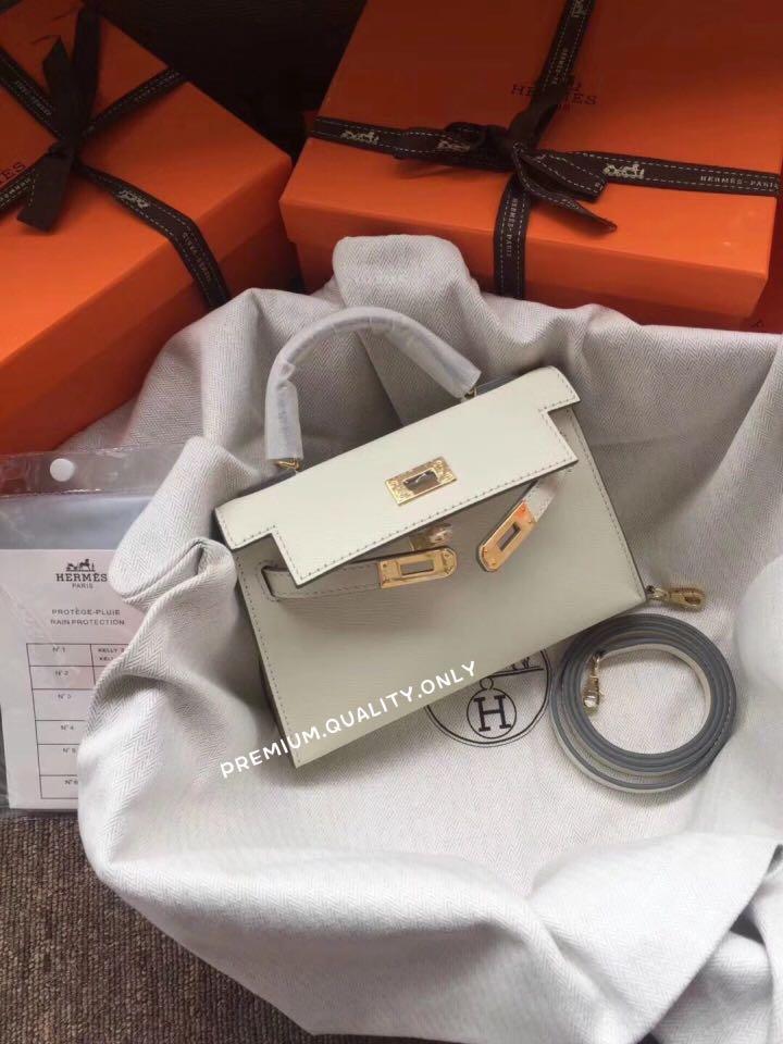 e585a408f340 Handmade Hermes Kelly 20 Epsom Leather