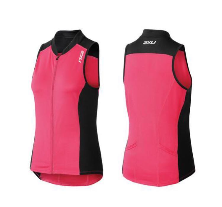 7d75afdccad30a Hari Raya Sales  2XU Women Active Multi Sport sleeveless Top (Cherry ...