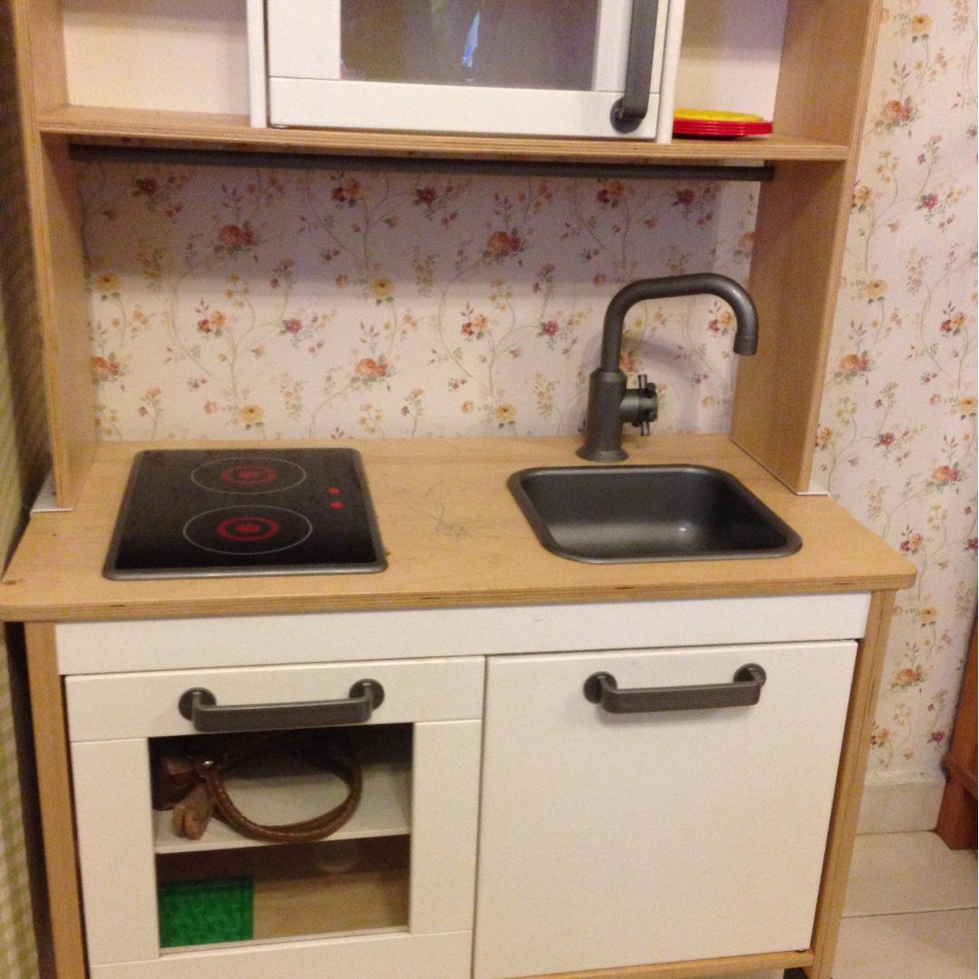 Ikea Wooden Kitchen Playset Home Furniture Furniture On Carousell
