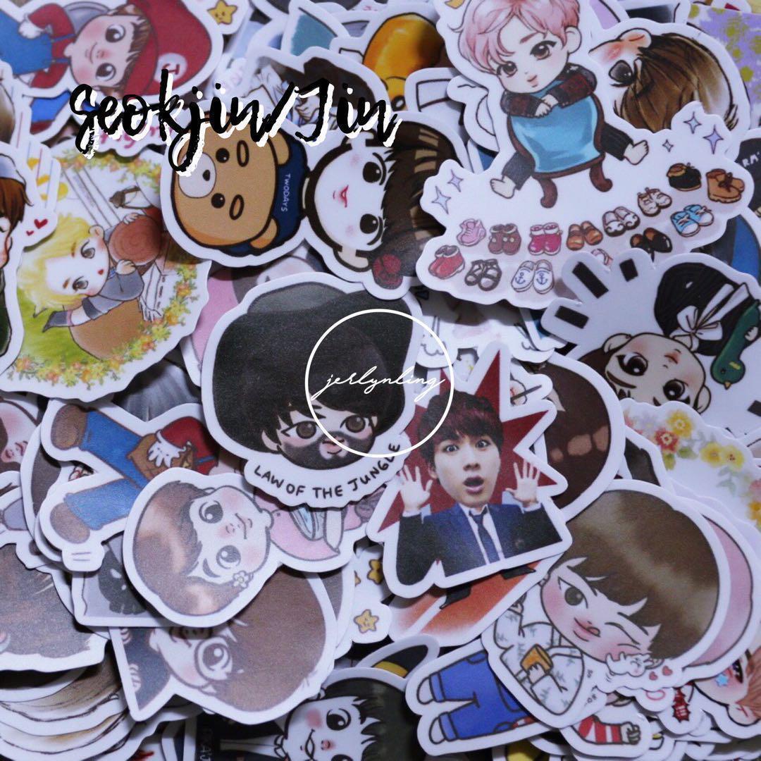 INSTOCK] BTS Sticker Grabbag Packs 💫, Entertainment, K-Wave