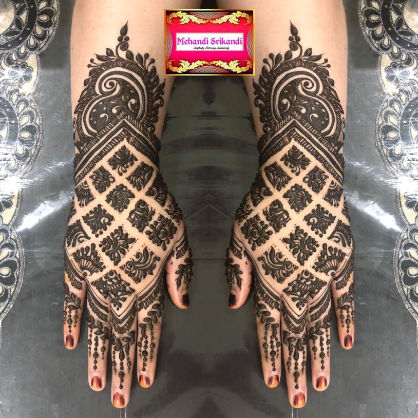 Intricate Bridal Henna Inai Pengantin Women S Fashion Muslimah