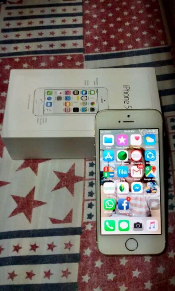 Iphone 5s 16gb Globe Locked