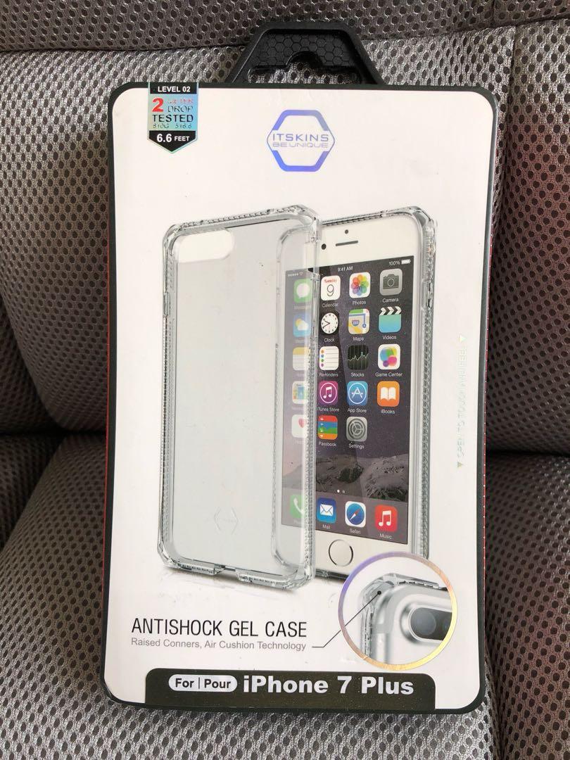 reputable site 05358 2626a iPhone 7 Plus Antishock Gel Case