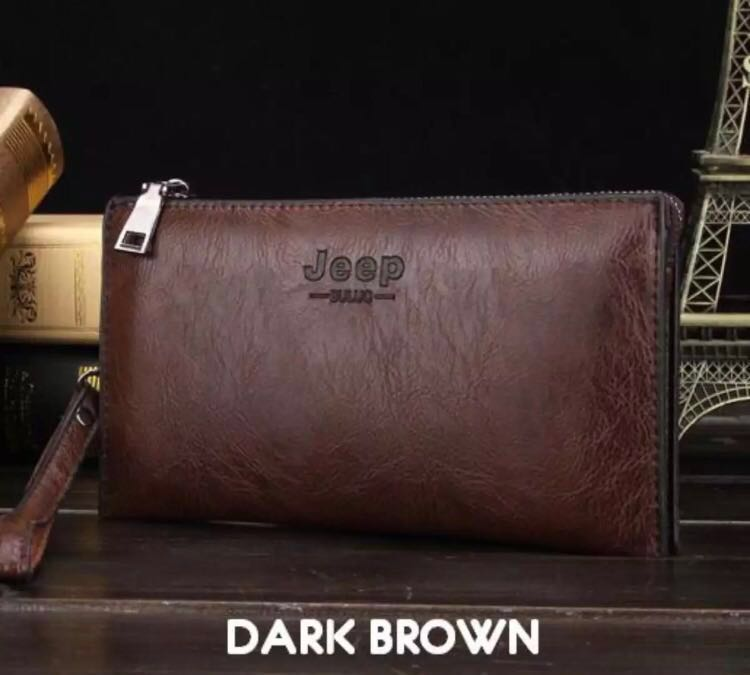 20243c3d28e JEEP Fashion Leather Bag, Men s Fashion, Bags   Wallets, Wallets on  Carousell