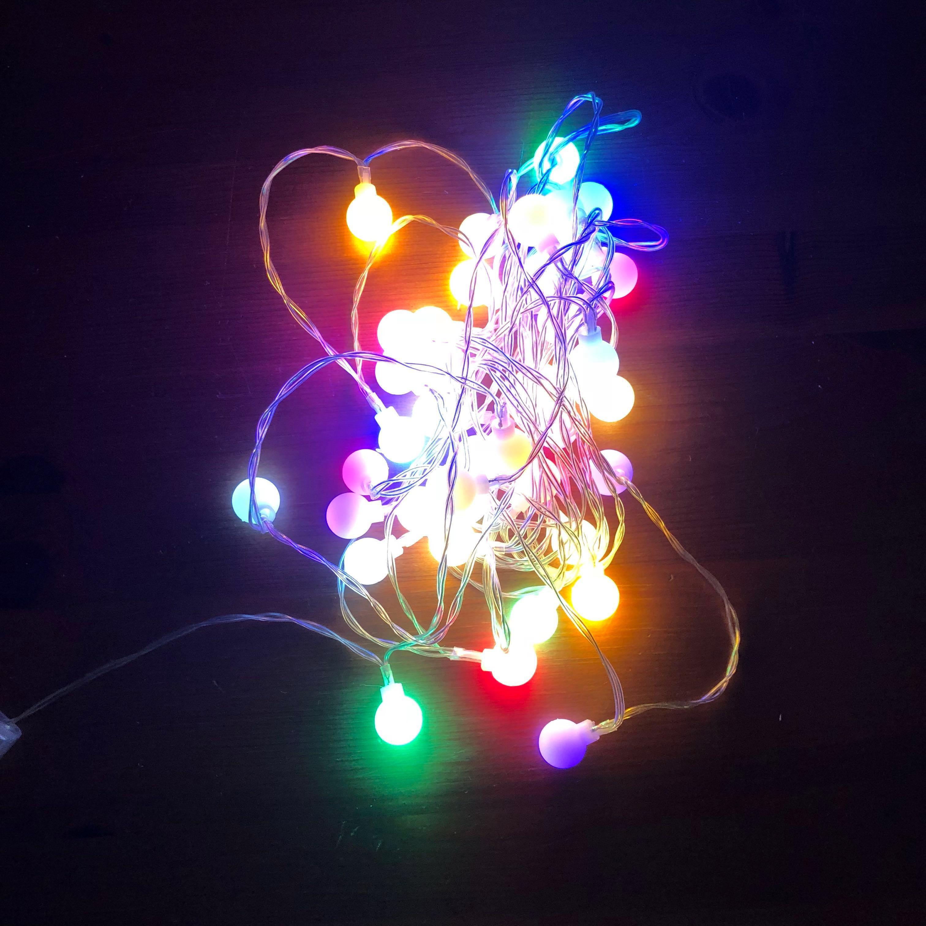 Led Rainbow Fairy Lights Furniture Home Decor Lighting Supplies On Carou