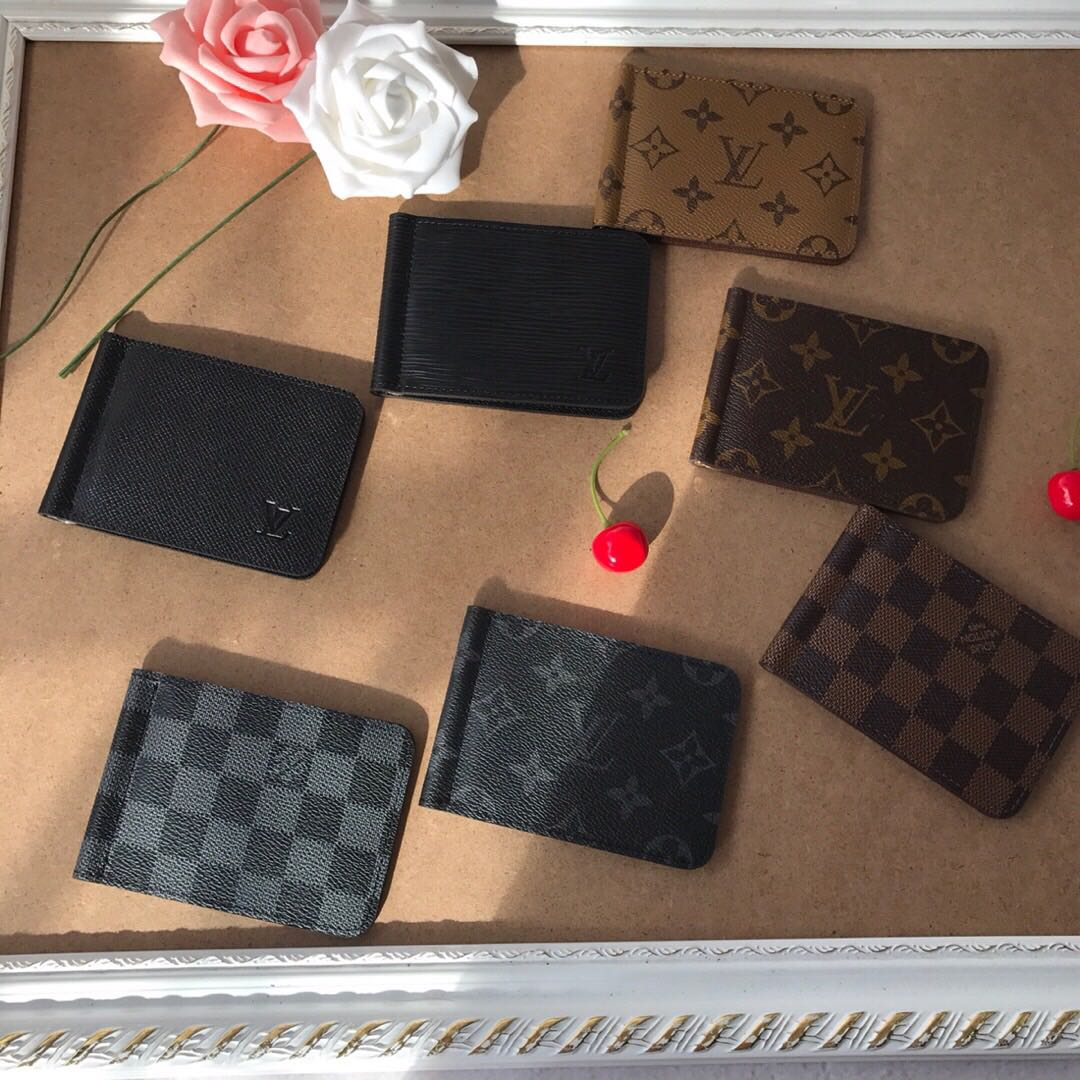 ceb42c2ab8 Louis Vuitton LV Money Clip Wallet