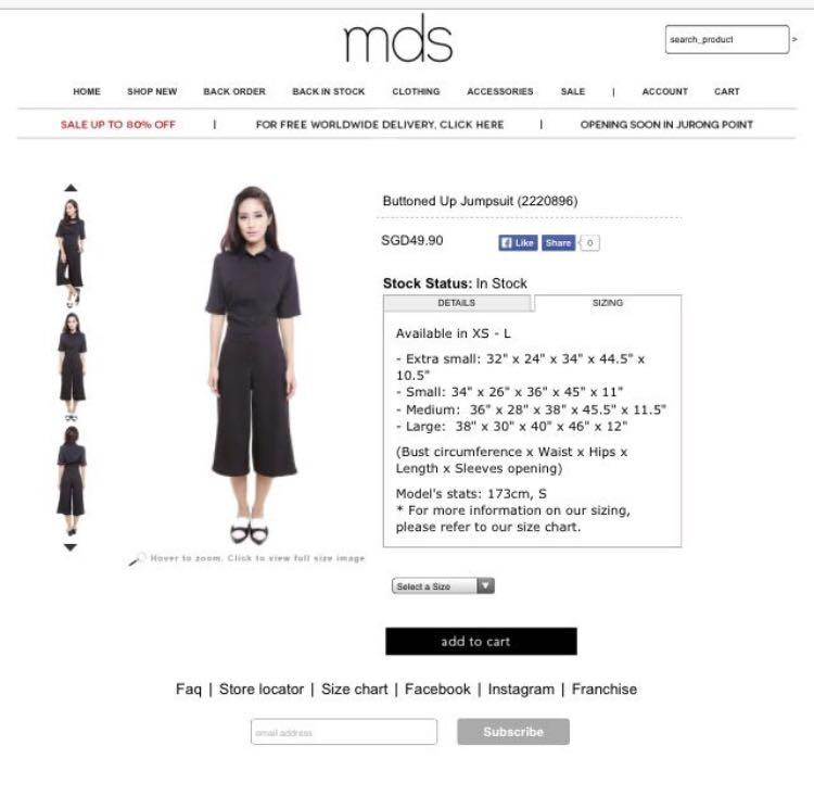 d716e7a8b322 MDS Black Buttoned Up Culottes Jumpsuit