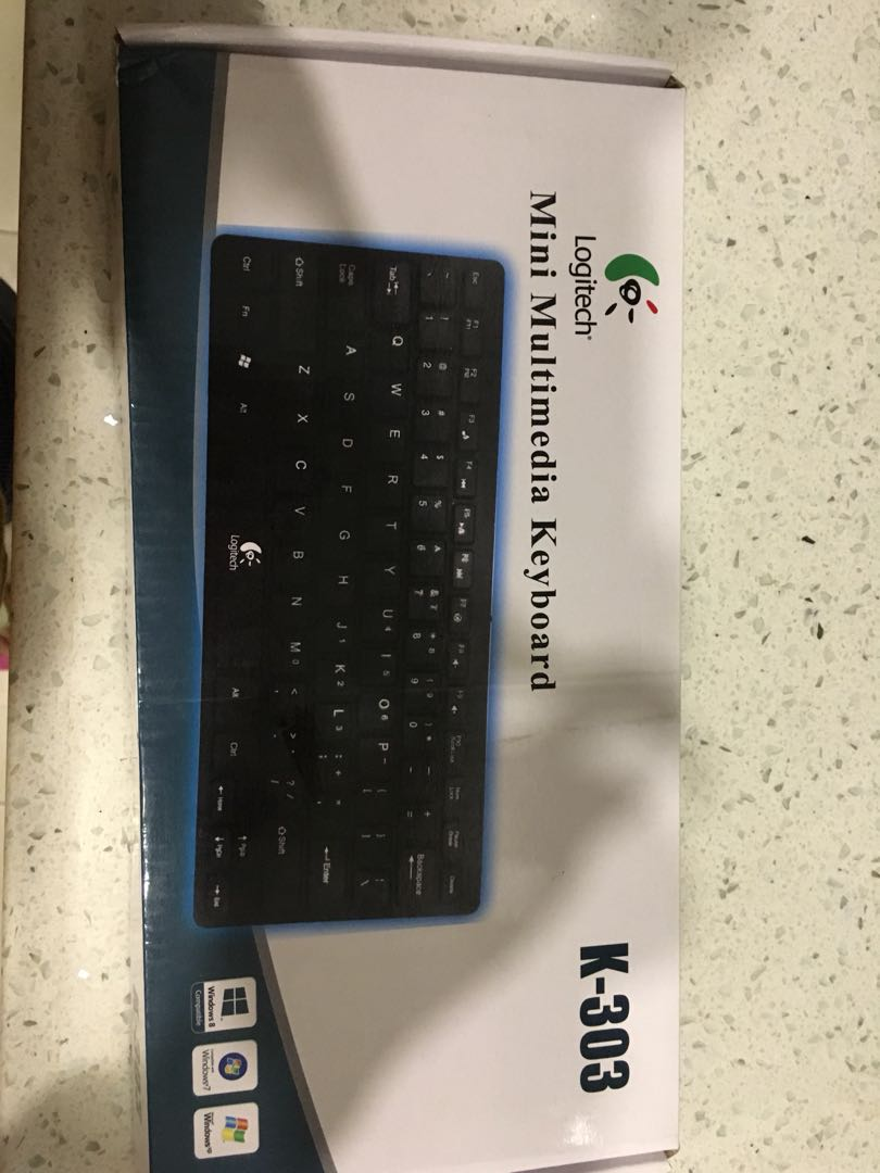 Mini Keyboard Electronics Computer Parts Accessories On Carousell Logitech Mk240 Mouse Wireless Share This Listing