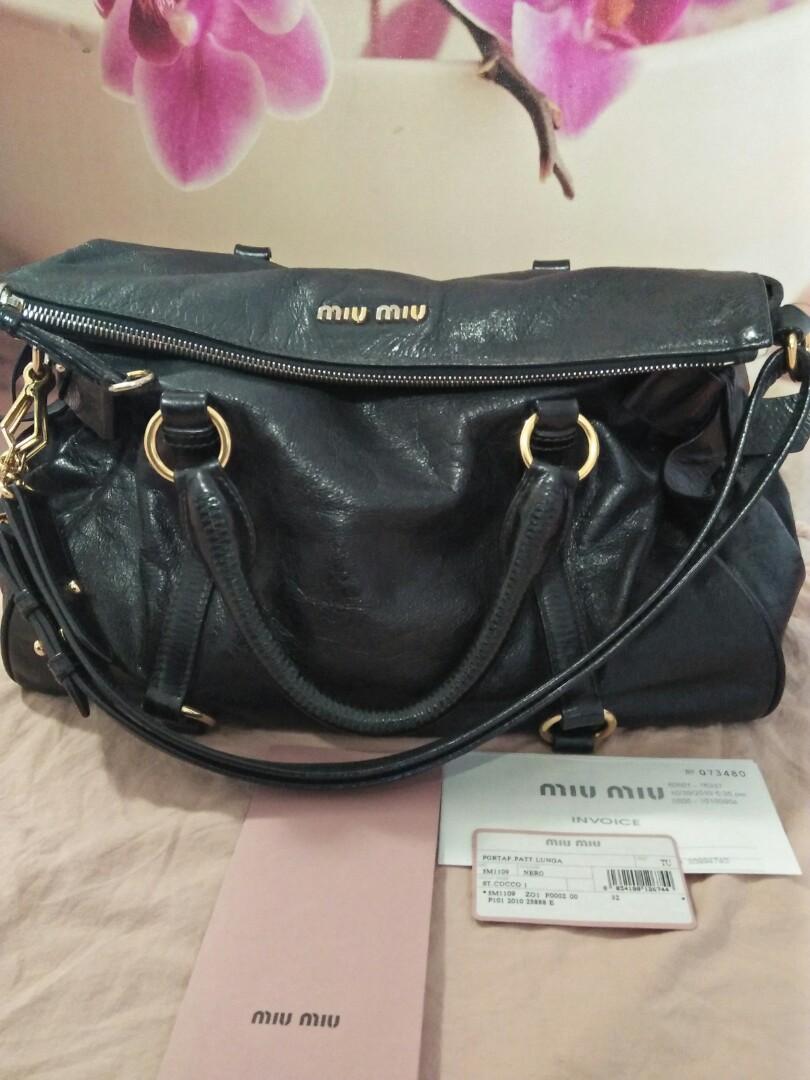 7c6ad824d12a Miu Miu Vitello Lux Medium Bow Bag