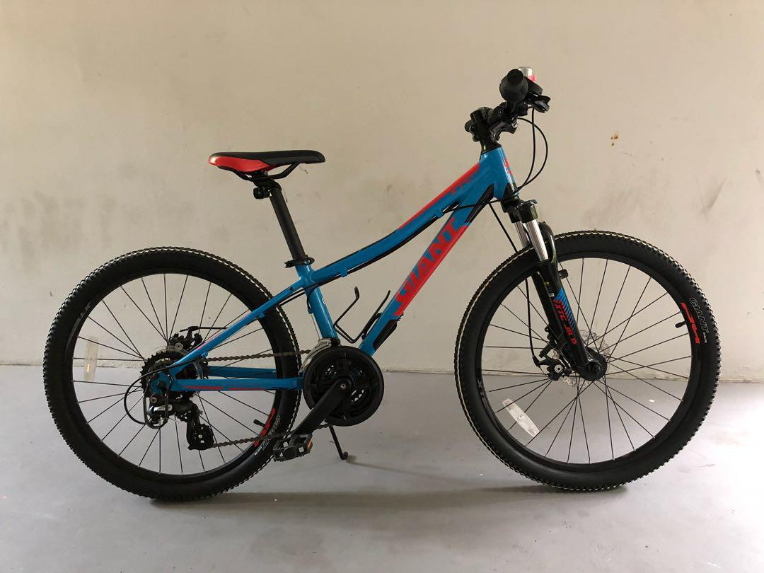 db2a4bd4 MTB GIANT XTC JR Disc 24, Bicycles & PMDs, Bicycles, Mountain Bikes ...