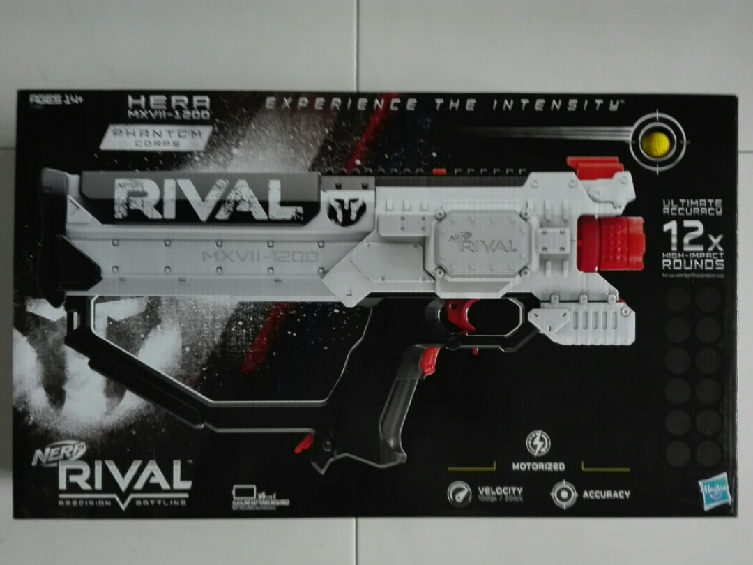 RESERVED Nerf Rival Phantom Corps Hera MXVII-1200 C size