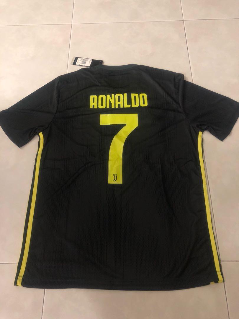 new product aae7d 0b2da New 18/19 Season Juventus 3rd Kit Jersey M Size Ronaldo 7 ...