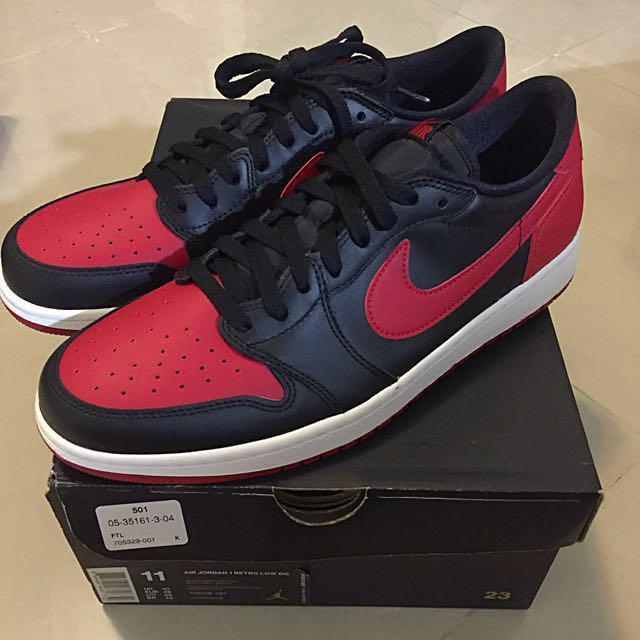 Nike Air Jordan 1 Retro Low OG, Men's