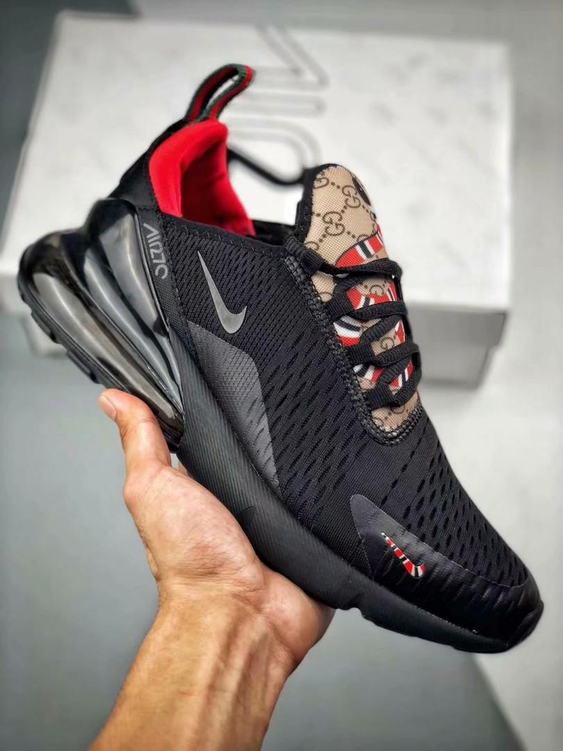 quality design release info on cheap Nike air max 270 x gucci, Men's Fashion, Footwear on Carousell