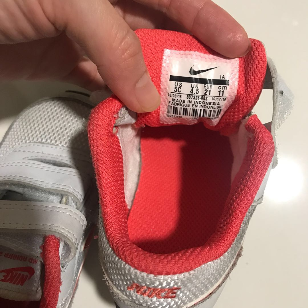 1ccff0eebe Nike MD Runner 2 Baby Size US 5C, Babies & Kids, Girls' Apparel, 1 to 3  Years on Carousell