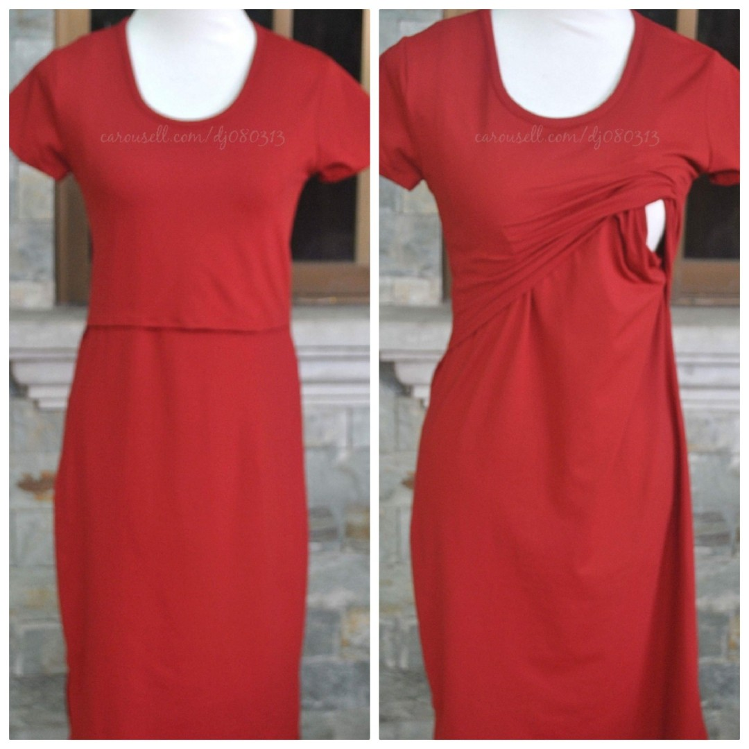 0c9858160fc23 Nursing and Maternity Dress, Women's Fashion, Clothes, Dresses ...
