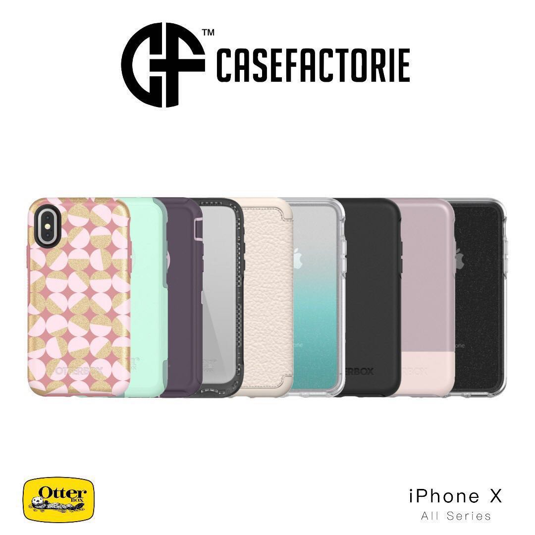 Otterbox Symmetry Commuter Defender Pursuit Iphone X Xs Mobile For Black Phones Tablets Tablet Accessories Cases Sleeves On Carousell