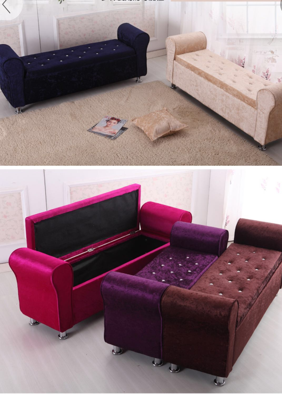 Preorder Storage Sofa Bench Bed Tail Stool Furniture