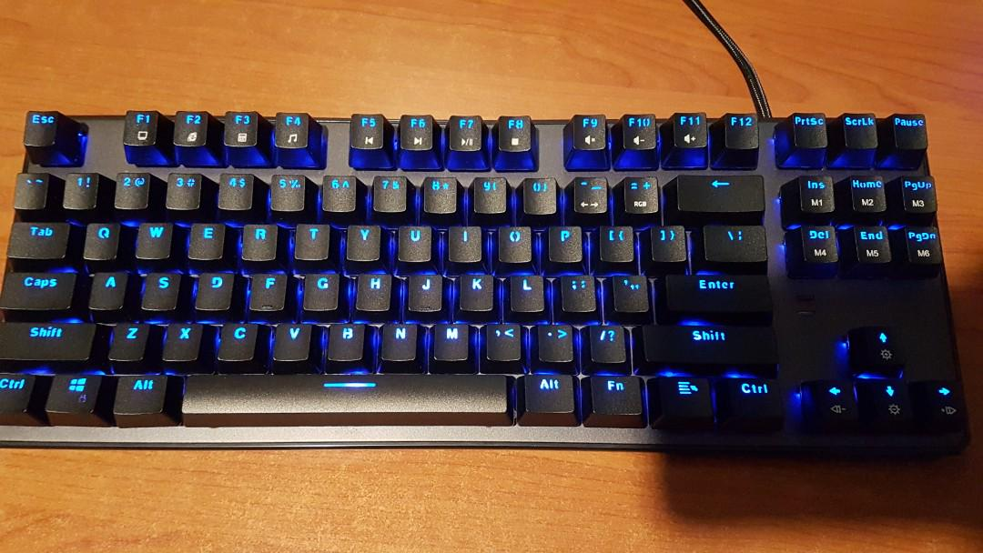 RGB Mechanical Keyboard (Tecware Phantom), Electronics