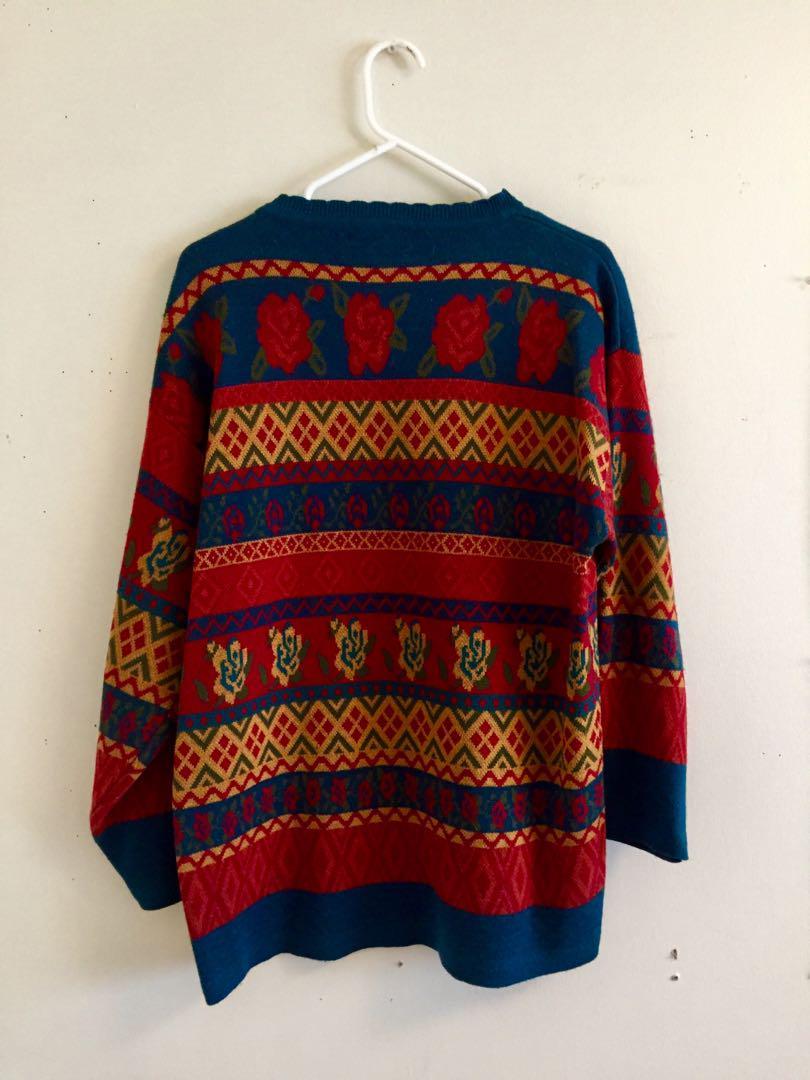 Rose Vintage Sweater