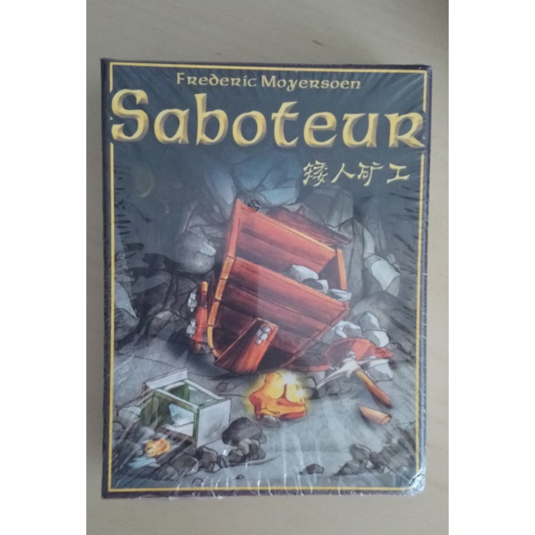 Saboteur Card Game For 3 10 Players Board Game Toys Games Board