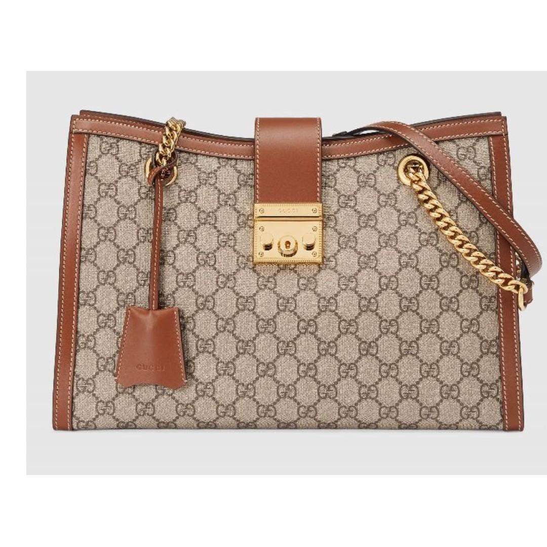 f9278f05e86 SALE! Gucci Padlock Medium GG Shoulder Bag!