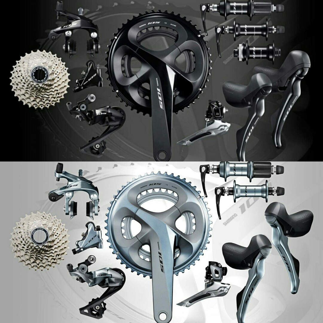 f834a3a765b Shimano 105 R7000 groupset, Bicycles & PMDs, Bicycles, Road Bikes on ...