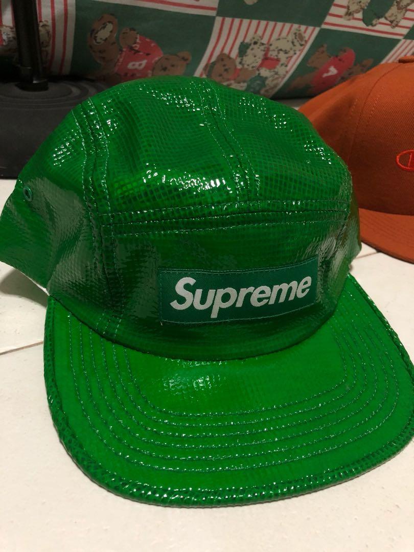 Supreme reflective green cap 9550e8eac48