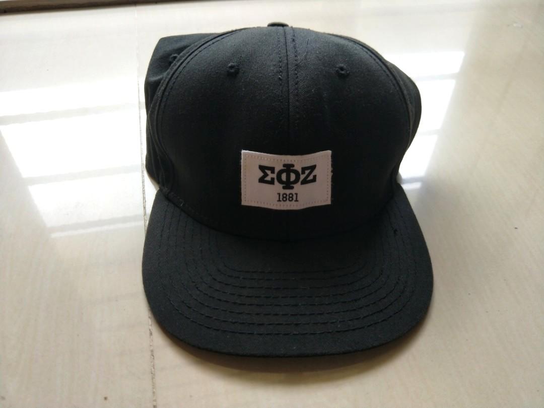 eabffef1f Topman American Freshman One Size Black Cap, Men's Fashion ...