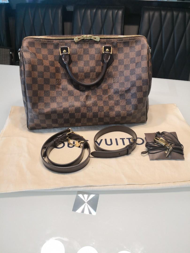 88e1aedf8ab0 Authentic Louis Vuitton Speedy Bandouliere 35