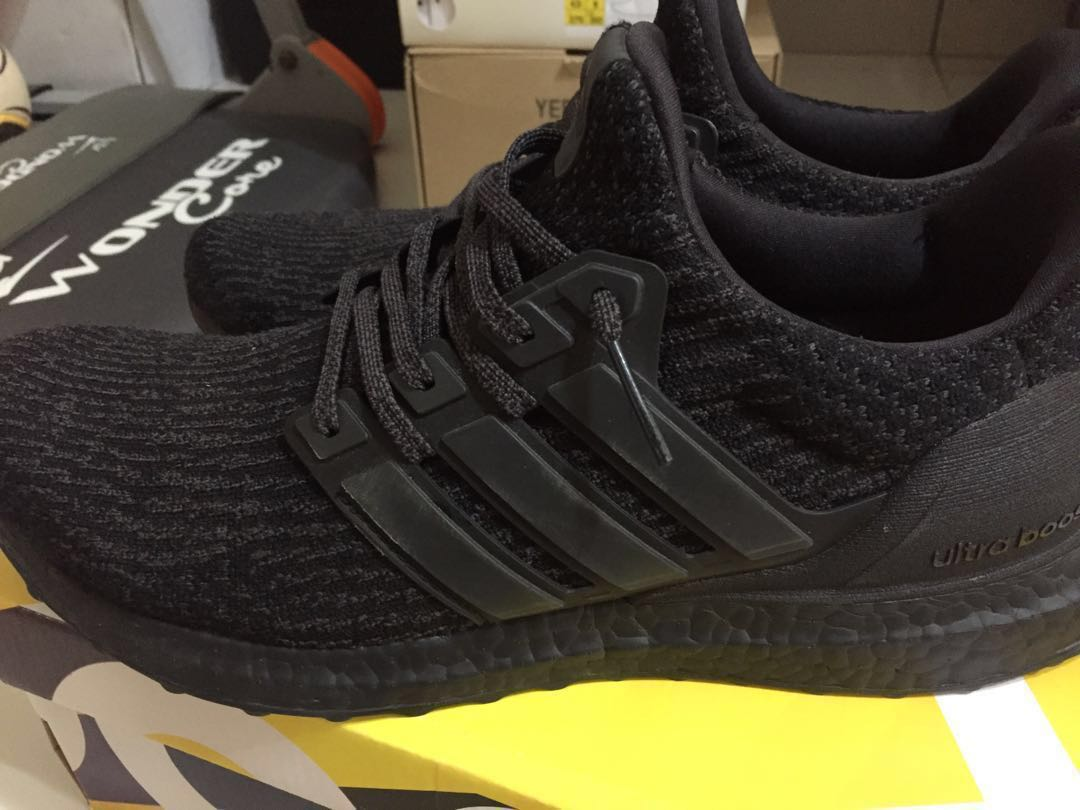 8db89ed63 ultraboost 3.0 triple black v2