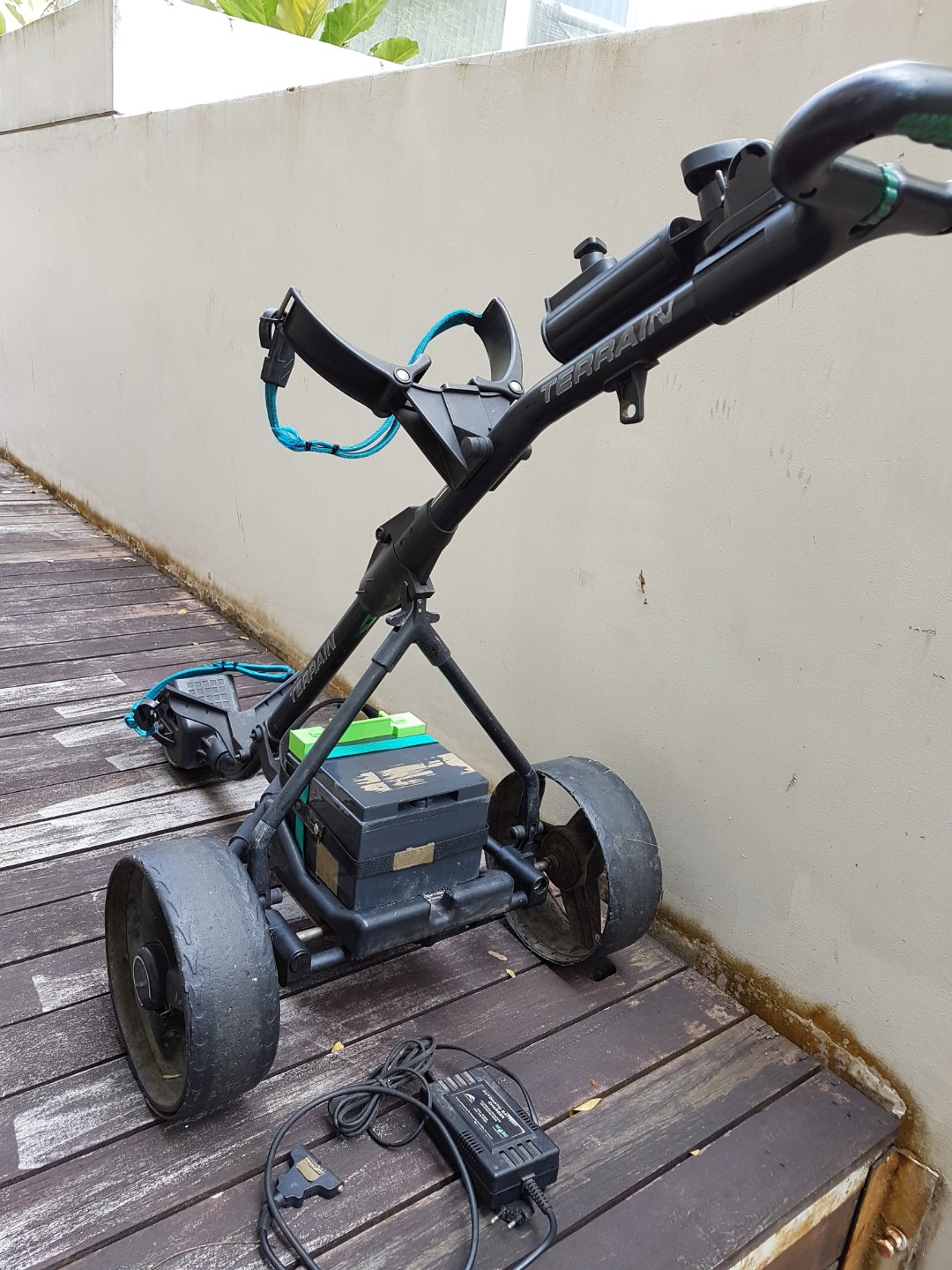 Used Battery Powered Golf Trolley