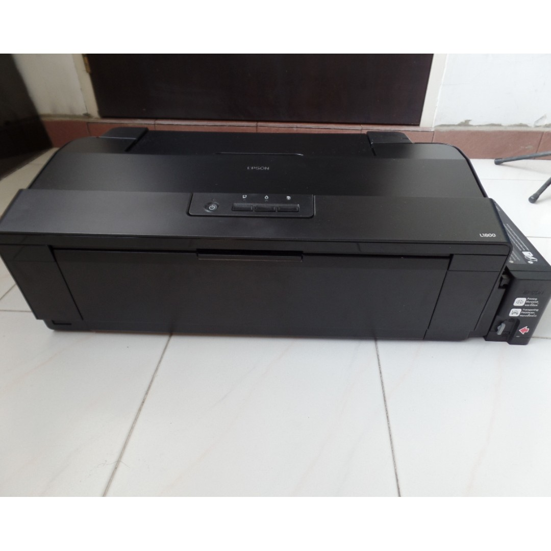 Used good working condition Epson L1800 A3+ Photo Ink Tank Printer