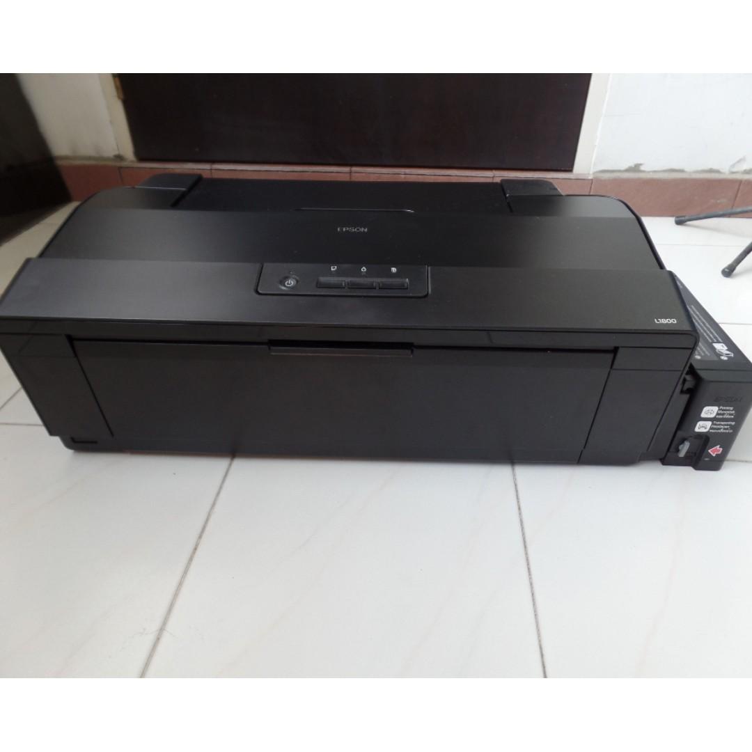Epson L1800 Specs