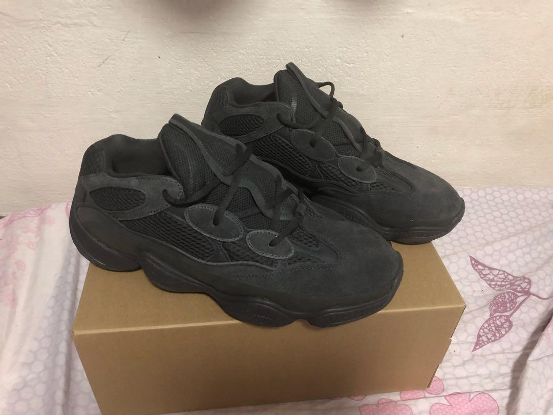 3001053a62a46 YEEZY 500 Utility Black