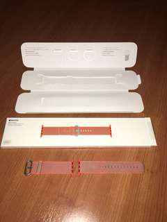 ORIGINAL Apple Watch Strap 42mm Series 1,2,3 (Woven Nylon) ORANGE