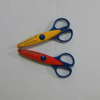 Scissors with Design-Cuts