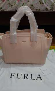 Reprice authentic Furla soft pink Large