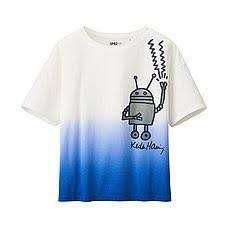 UNIQLO Women SPRZ NY K. Haring Boxy T-Shirt