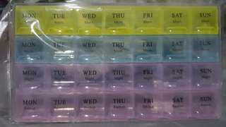 Pills and Capsules Box