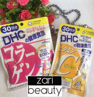 DHC Collagen & DHC Vitamin C Combo for 30 days