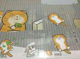 🚚 白爛貓×麻糬爸 OPEN 史努比會議中 大貓熊圓仔 資料文件夾(單售)