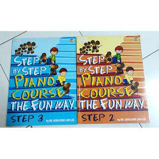 Step By Step Children Piano Music Book