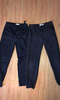 Boys uniform pants navy blue- size 10