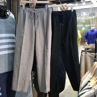🚚 韓國棉麻鬆緊褲