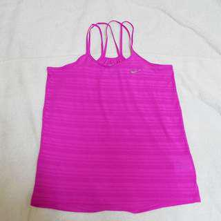 Authentic Nike Dri Fit Pink Top