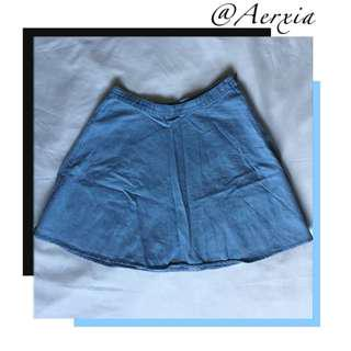 Urban Outfitters Baby Blue Skirt