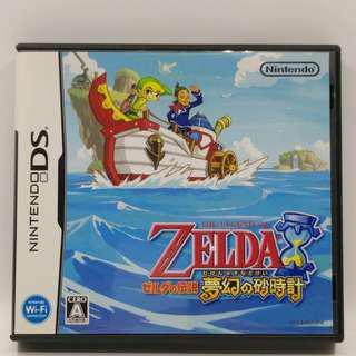 NDS Zelda 夢幻之砂時計